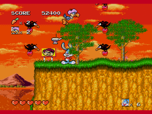 Tiny Toon Adventures - Buster's Hidden Treasure (USA)001