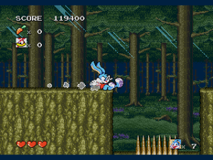 Tiny Toon Adventures - Buster's Hidden Treasure (USA)010