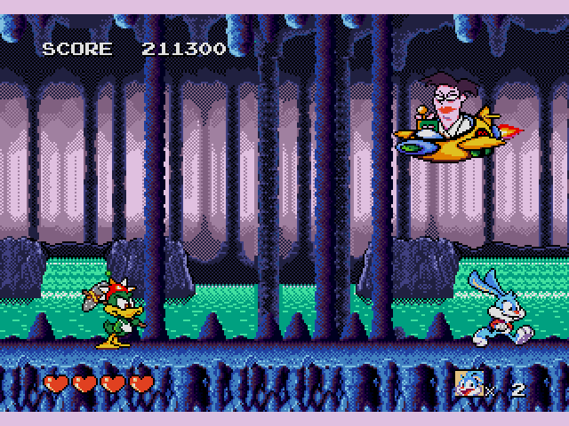 [Análise Retro Game] - TinyToons Adventures Buster's Hidden Treasure - Mega Drive/Genesis Tiny-Toon-Adventures-Busters-Hidden-Treasure-USA013