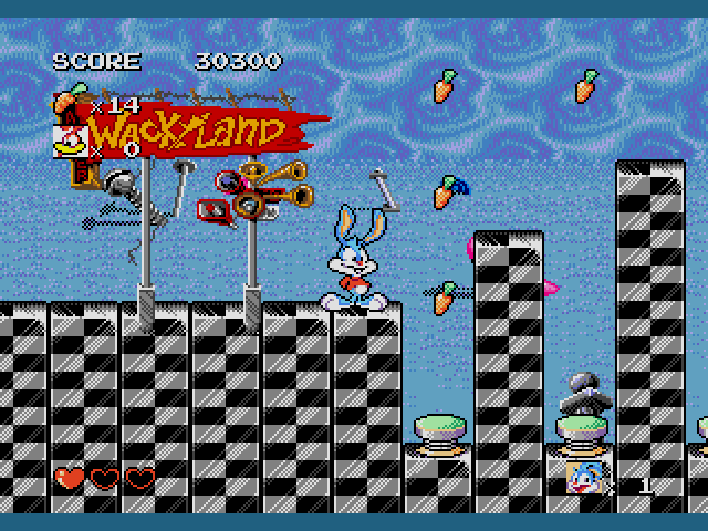 [Análise Retro Game] - TinyToons Adventures Buster's Hidden Treasure - Mega Drive/Genesis Tiny-Toon-Adventures-Busters-Hidden-Treasure-USA021