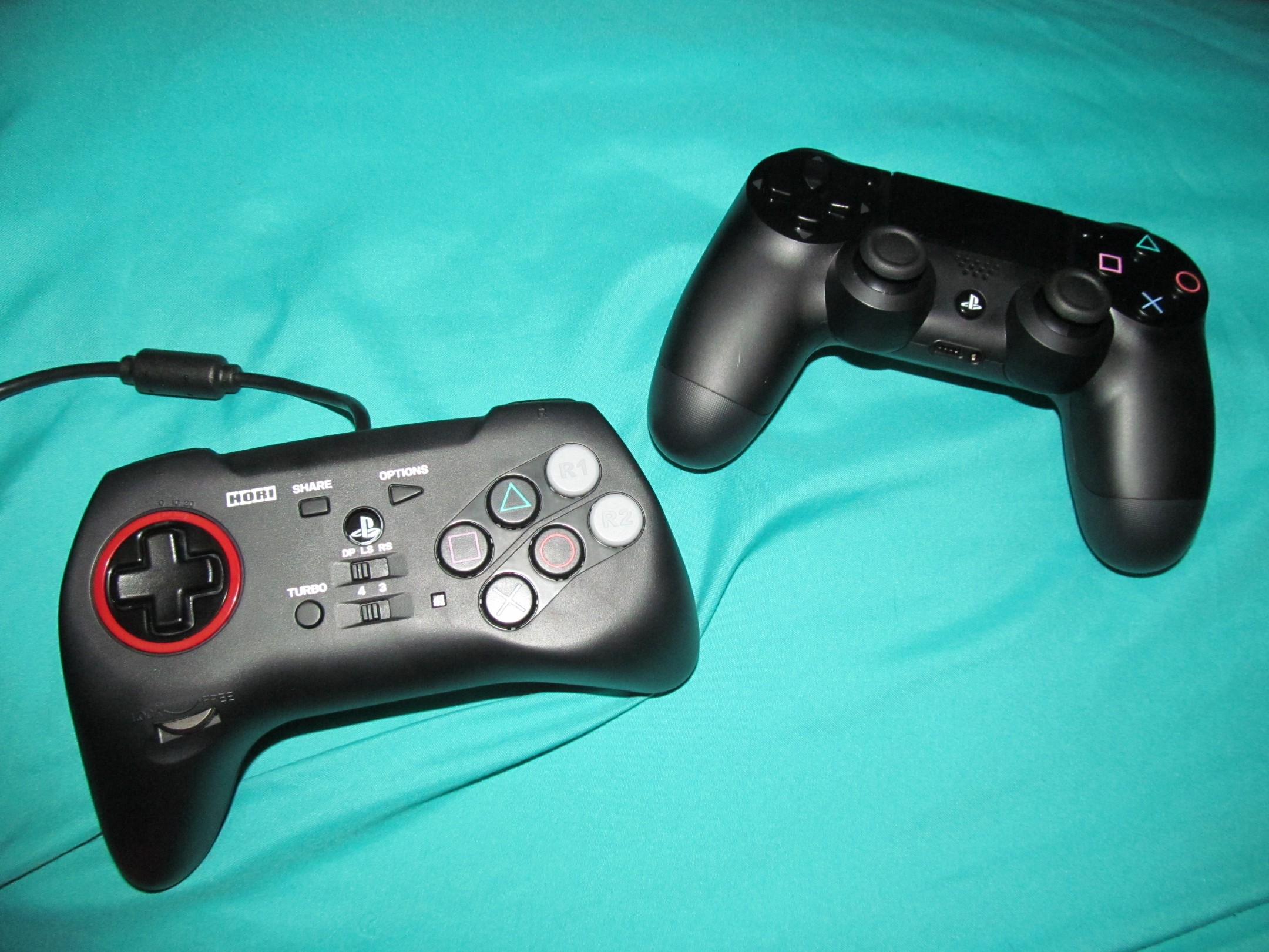Controller Review Hori Fighting Commander 4 For Ps3 Ps4 Pc Gamecube Wiring Diagram Right Stick Img 1124