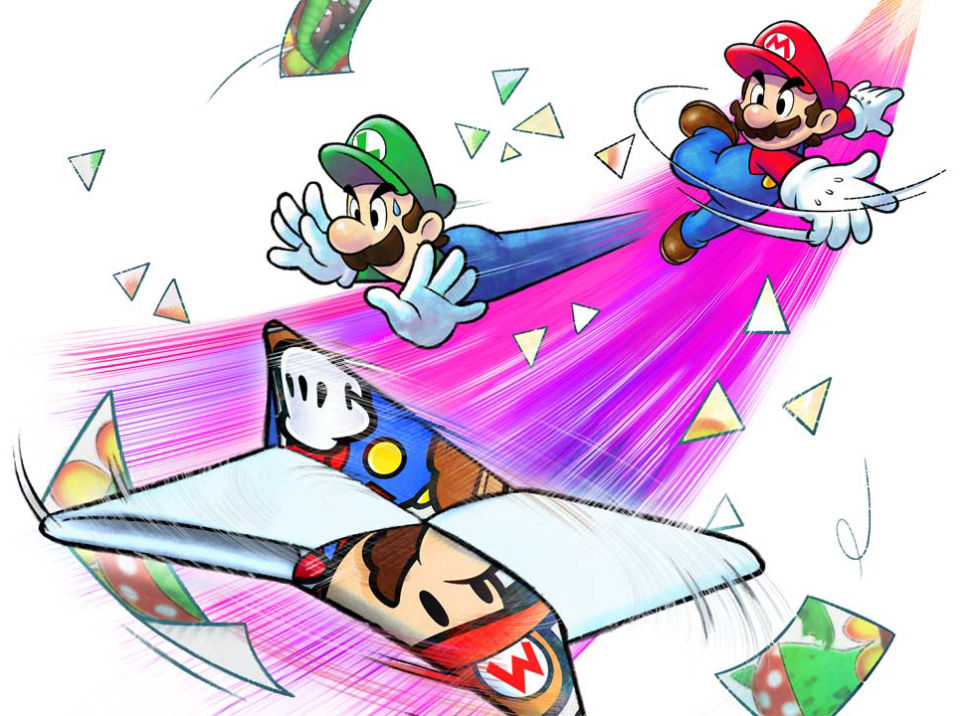 Interview The Minds Behind Mario And Luigi Paper Jam Akira