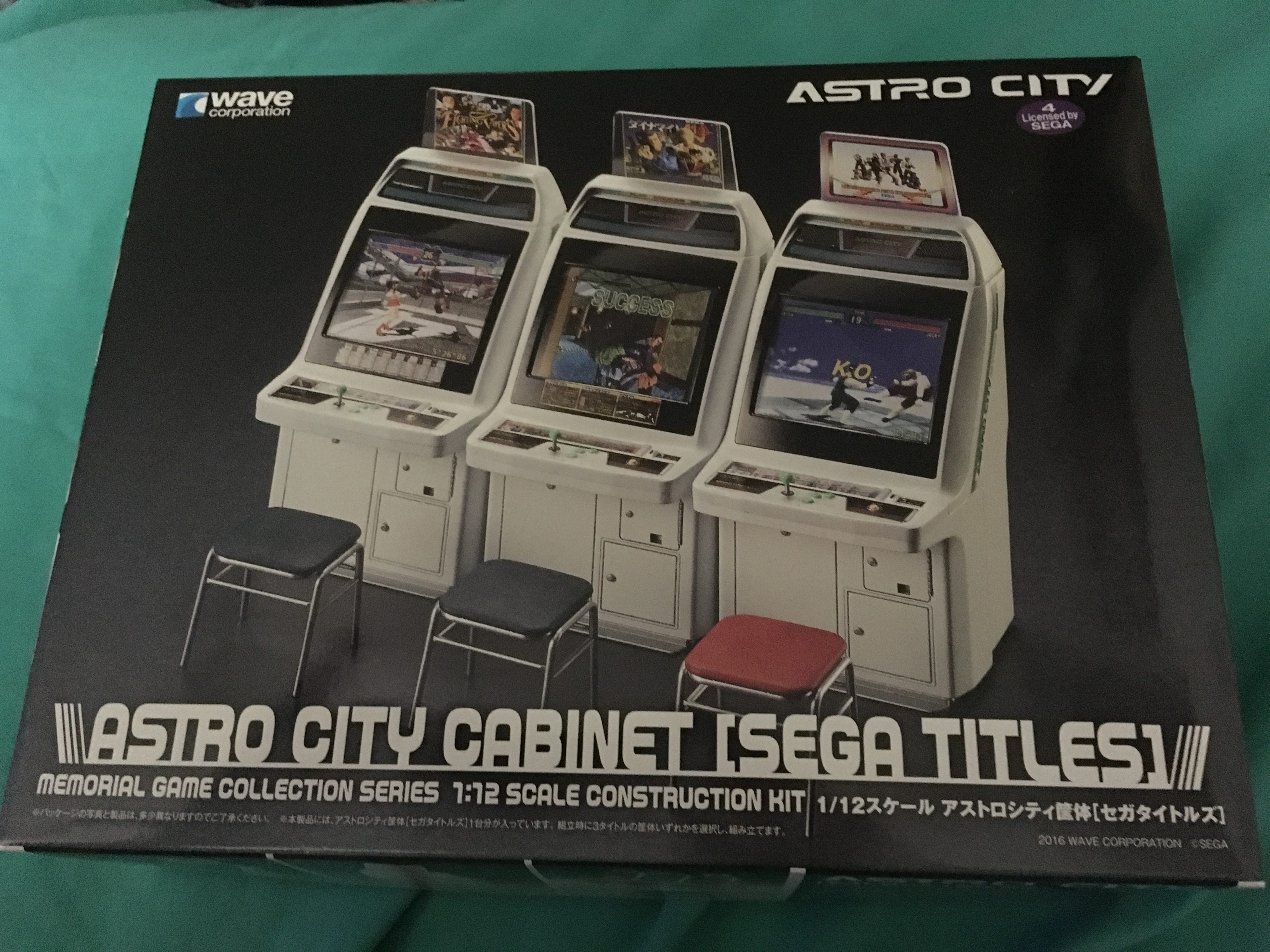 Review/Build: Sega Astro City 1/12 cabinet model by WAVE | Gaming.moe